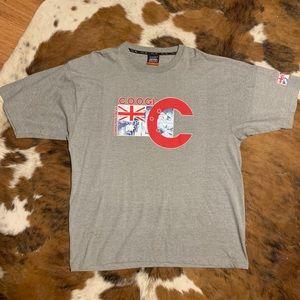 Coogi Grey Graphic T-Shirt